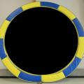 Vikan Yellow Blue Round Trampoline Canada | Calgary, Edmonton, Vancouver, Toronto Trampolines