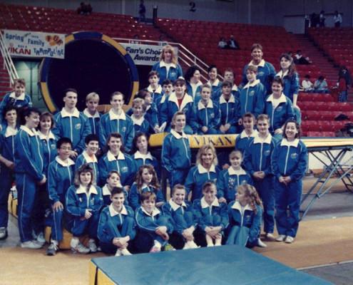 Olympic Team with Trampoline | Calgary, Edmonton, Vancouver, Toronto Trampolines