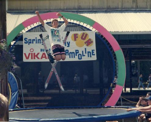 Kid Jumping on Trampoline | Calgary, Edmonton, Vancouver, Toronto Trampolines