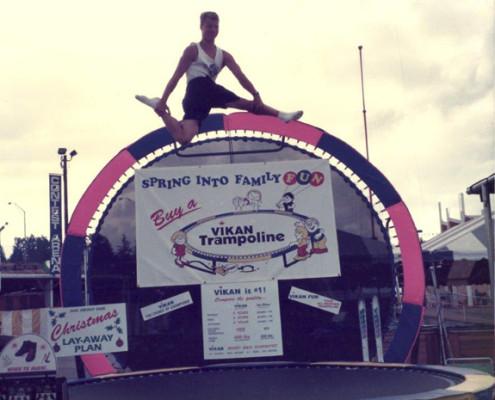 Jumping on Trampoline | Calgary, Edmonton, Vancouver, Toronto Trampolines