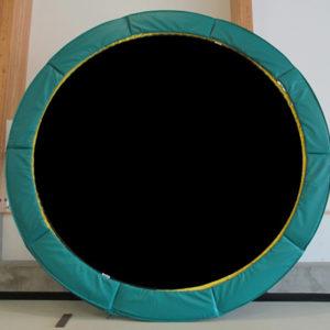 Vikan Green trampoline | Round Trampoline Canada | Calgary, Edmonton, Vancouver, Toronto Trampolines