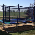 17 foot Trampoline Enclosure Canada | Calgary, Edmonton, Vancouver, Toronto Trampolines