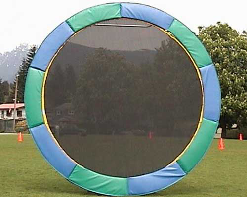 how to make a real trampoline