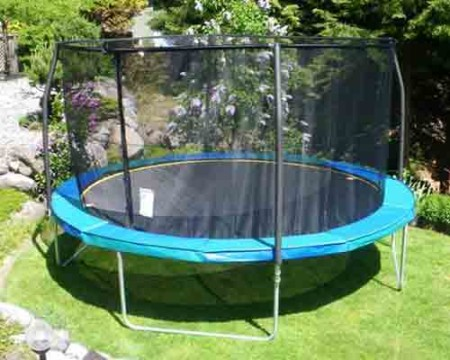 Trampoline Safety Net for sale in Canada, Calgary, Edmonton, Vancouver, Toronto