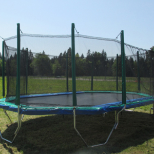 20 ft. x 16 ft. Trampoline Enclosure - enclosure for Trampolines Canada | Vikan Trampolines: Calgary, Edmonton, Vancouver, Toronto Trampolines