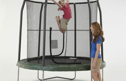 7.5 ft Jr.Trampoline | Small Trampoline Net Enclosures in Calgary, Edmonton, Vancouver, Toronto Trampolines