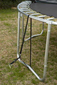 Trampoline Anchor Photo | Buy in Calgary, Edmonton, Vancouver, Toronto Trampolines
