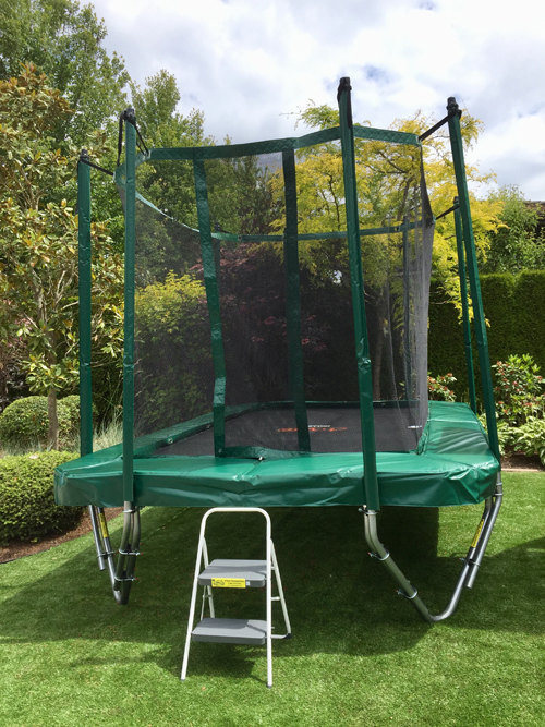 9 Ft X 13 Ft Rectangular Trampoline Gold Vikan