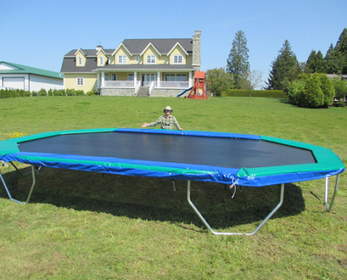 Biggest Trampoline In The World Large Trampoline