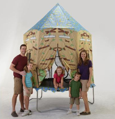 Trampoline Tent Enclosure for Kids in Canada