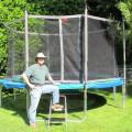 14 foot Trampoline with Enclosure Canada | Calgary, Edmonton, Vancouver, Toronto Trampolines