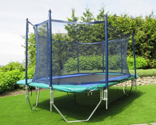 11 x 17 Foot Trampoline With Enclosure Photo | Calgary, Edmonton, Vancouver, Toronto Trampolines