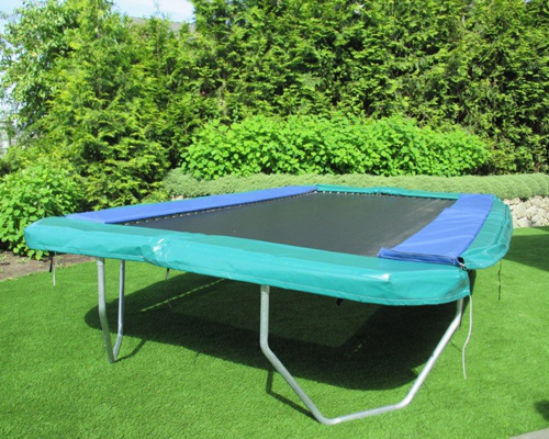 11 Ft X 17 Ft Rectangular Trampoline Vikan Medal Series