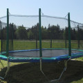 Huge Trampoline With Enclosure Photo | Calgary, Edmonton, Vancouver, Toronto Trampolines